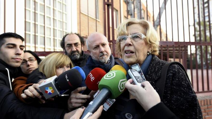"""Carmena, sobre que Franco vaya a La Almudena: No puede haber """"exaltación"""""""