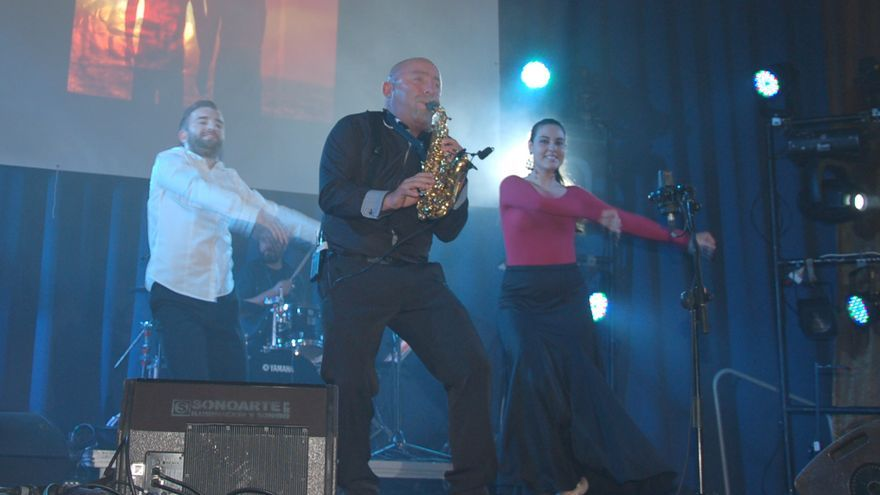Un momento del concierto de Miguel López. Foto: Jesús Hernández Bienes.