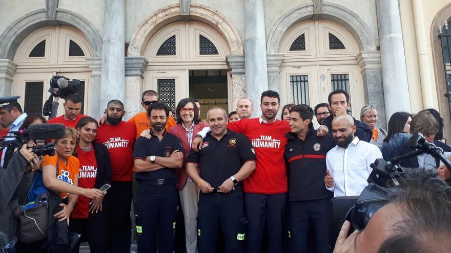 """Rosa Aguilar expresa la """"gran satisfacción"""" de la Junta por la absolución de los tres bomberos sevillanos"""