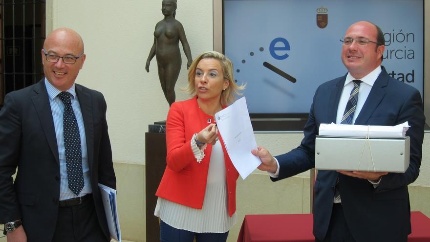 El presidente de Murcia pide a C's responsabilidad en el caso de las supuestas facturas falsas