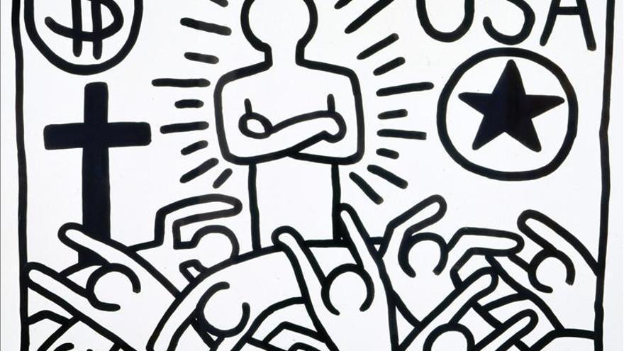 La lucha social y política de Keith Haring agitan París