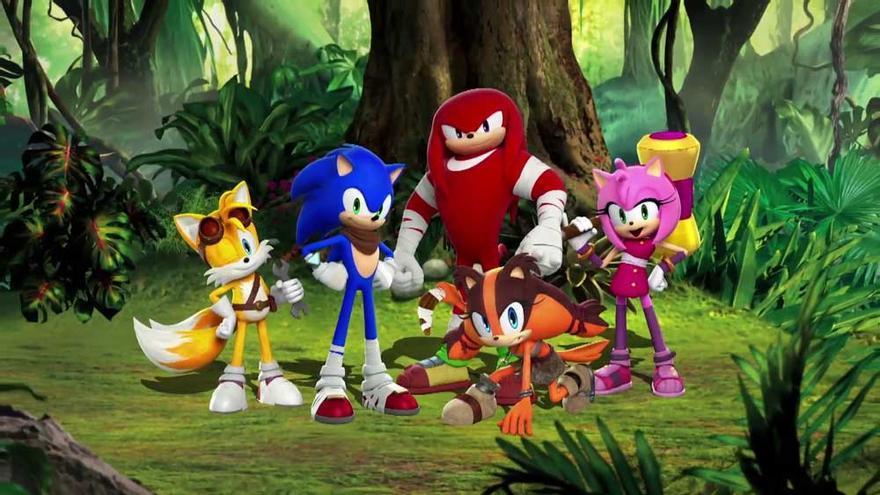 Sonic Boom presenta a Sticks