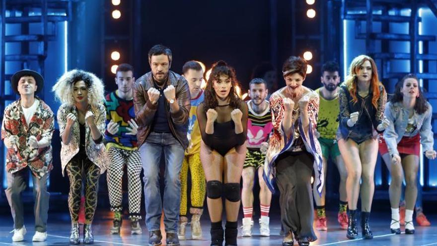 """El musical """"Flashdance"""" se estrena en Barcelona con una estética actualizada"""