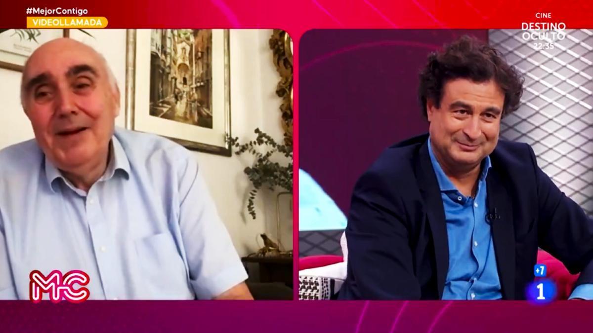 Santiago, padre de Ion Aramendi, en 'Mejor contigo'