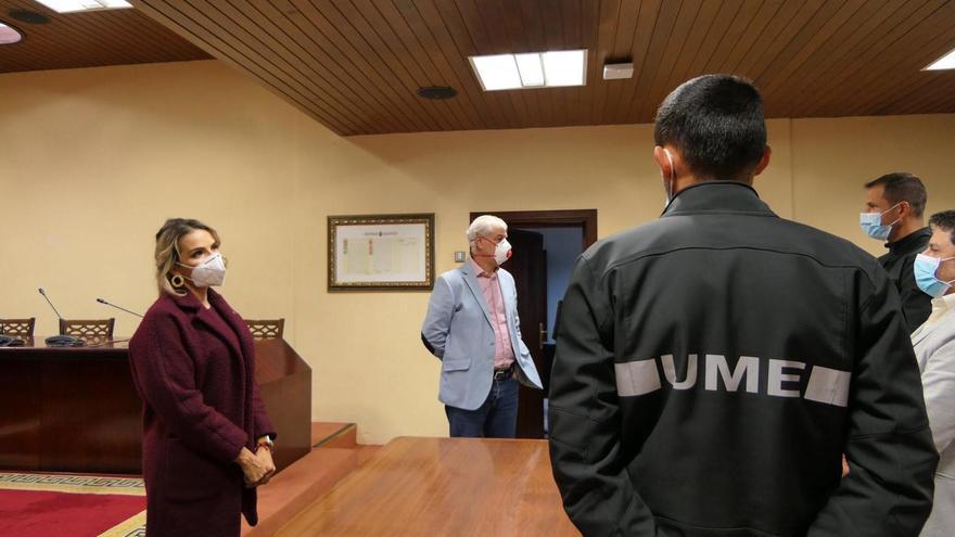 Curso de formación de la UME en El Hierro