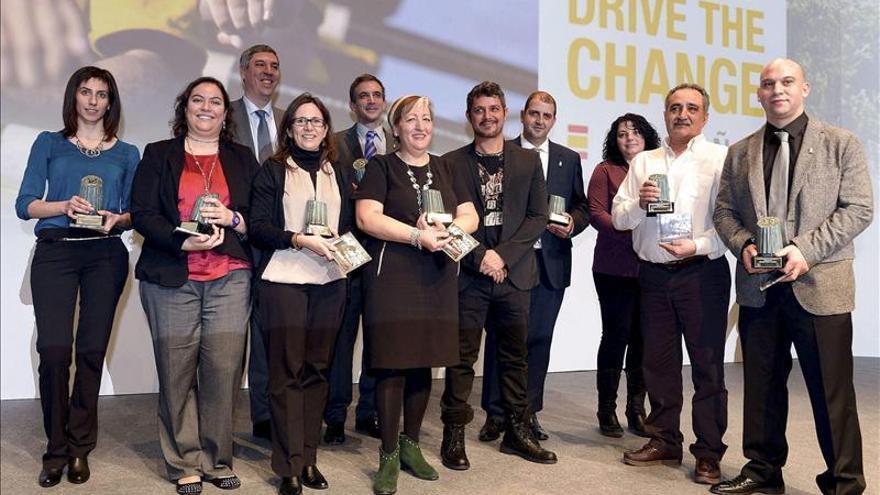 Alejandro Sanz en la entrega premios Renault 2012 a la excelencia a empleados
