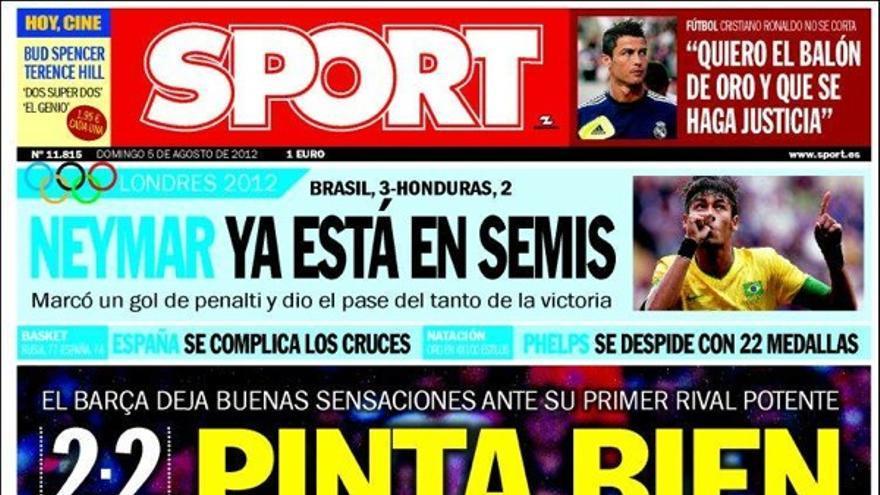 De las portadas del día (5/08/2012) #13