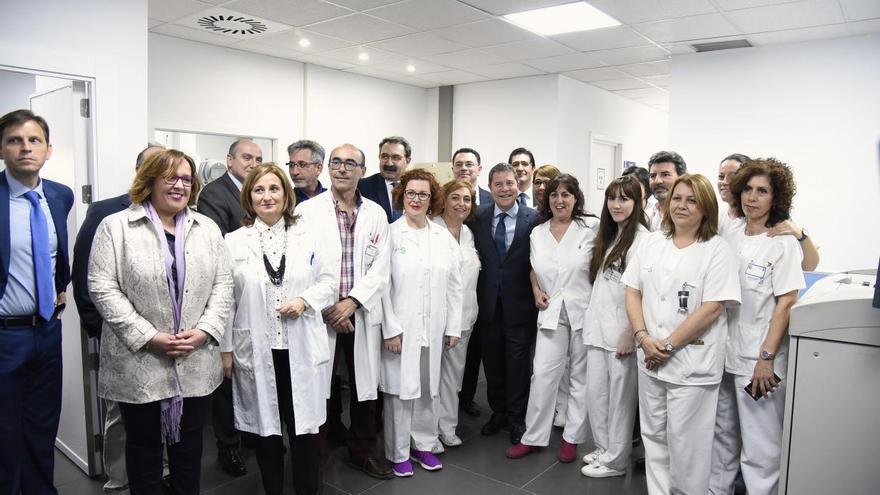 Inauguración de la nueva sala de radiología digital del Hospital General de Valdepeñas