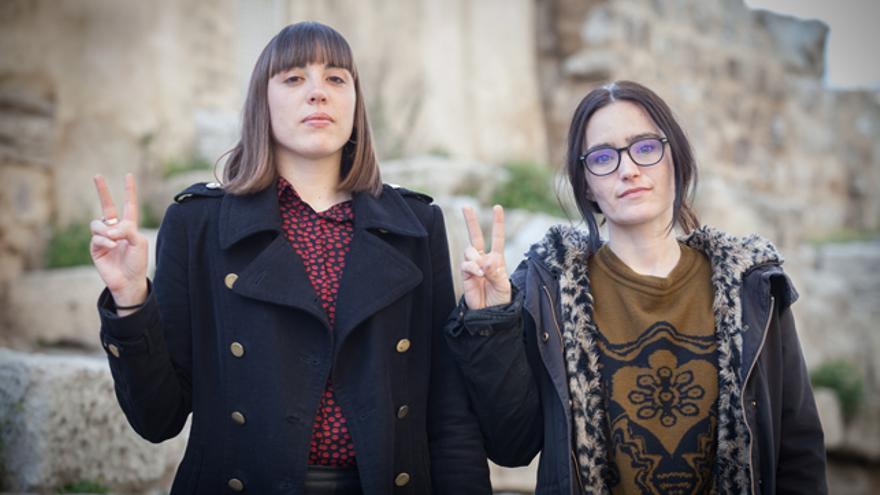 Altamira Guelbenzu y Ana Sebastián.