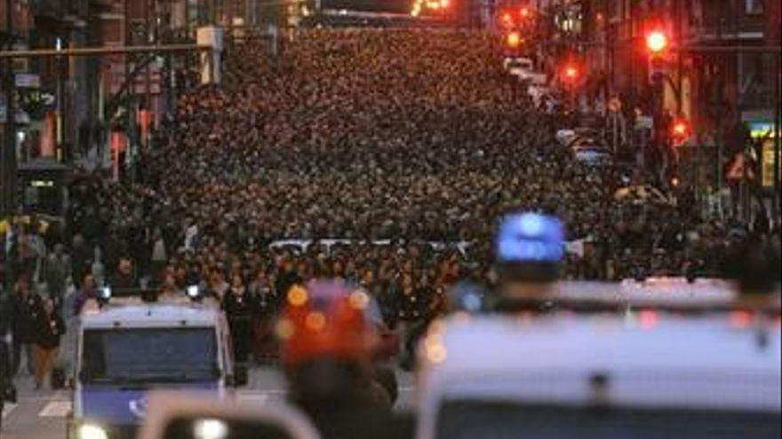 Manifestación Bilbao, Segi, ETA