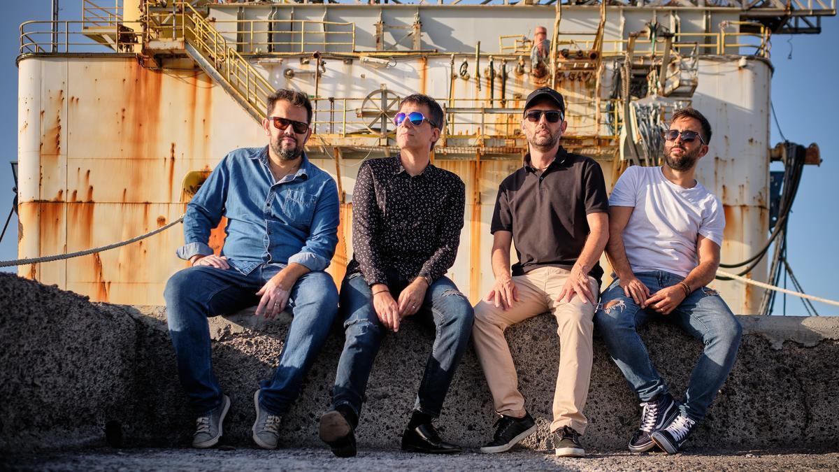 El grupo tinerfeño Alexis Alonso Quartet