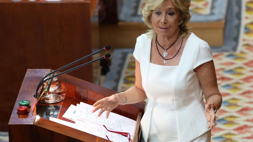 Esperanza Aguirre, primera mujer que presidió una comunidad autónoma y el Senado