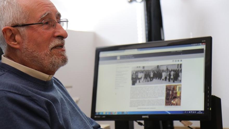 Francisco Moreno, autor del portal