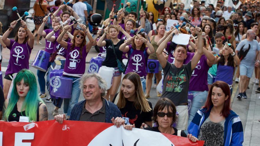 Manifestación en Pontevedra contra las corridas de toros