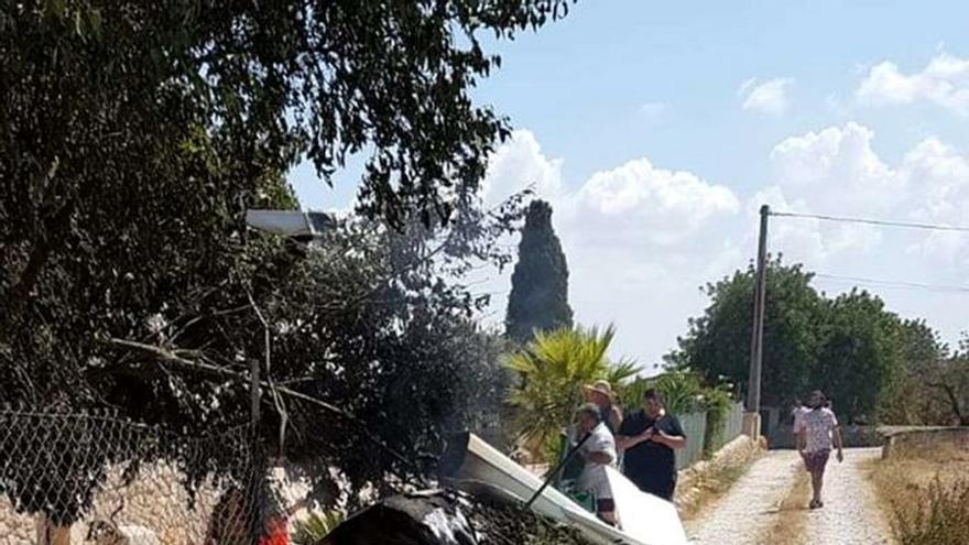 5 muertos tras chocar en el aire un helicóptero y un ultraligero en Mallorca