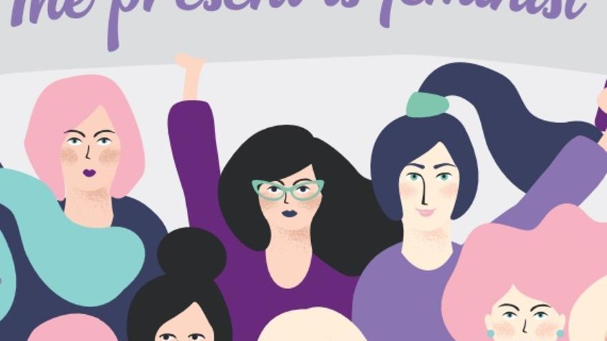 """""""El presente es feminista"""", lema de la campaña impulsada por el Gobierno de Aragón"""