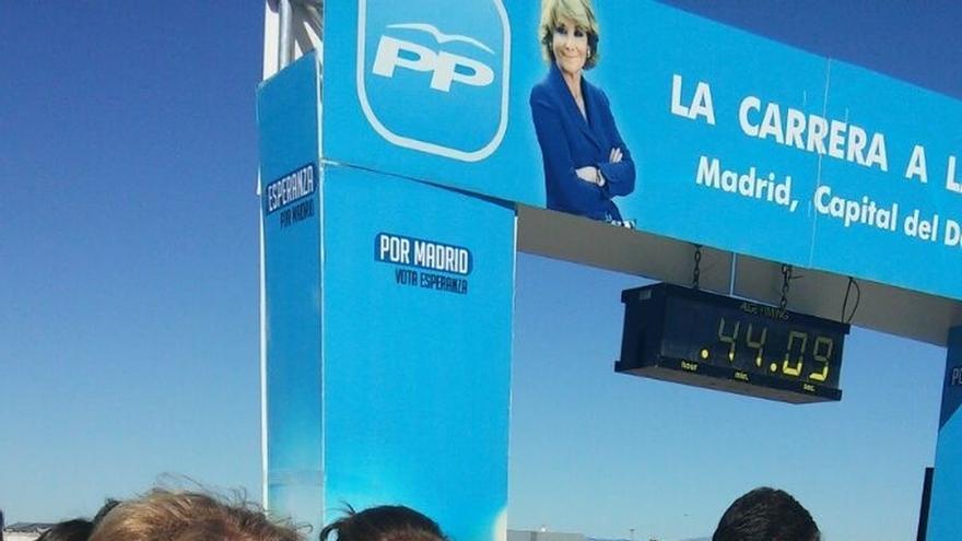 """Santamaría dice que el PP """"sabe correr y subir cuestas"""" frente a los que no les llega el resuello"""