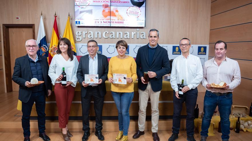 Presentación de la Feria Regional de Vino, Queso y Miel de Gran Canaria