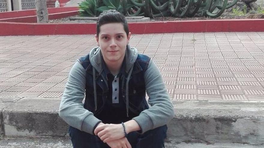 El estudiante Samuel Martel