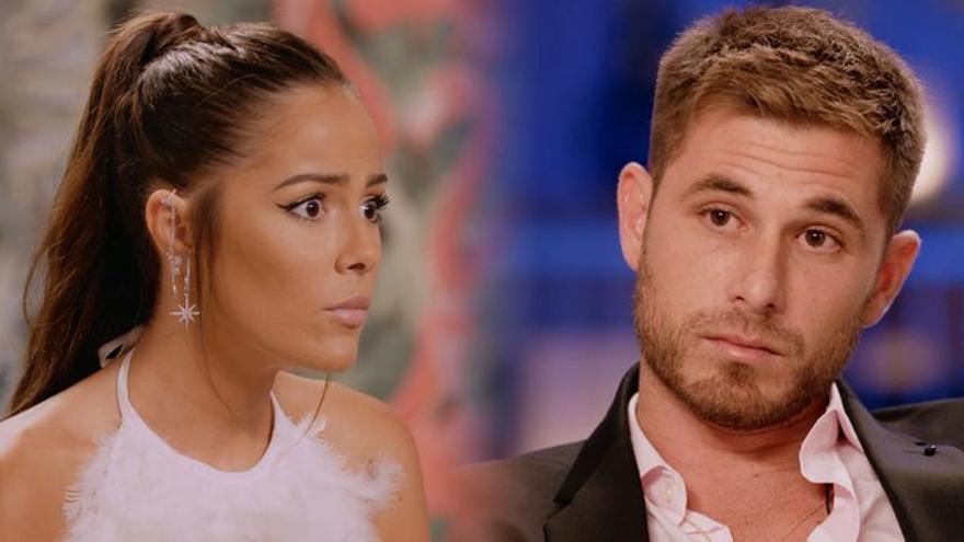 Melyssa y Tom, en su reencuentro en 'La isla de las tentaciones'