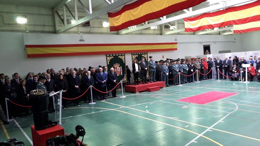"""El director general de la Guardia Civil apela a la """"fundamental"""" coordinación entre cuerpos policiales en Navarra"""