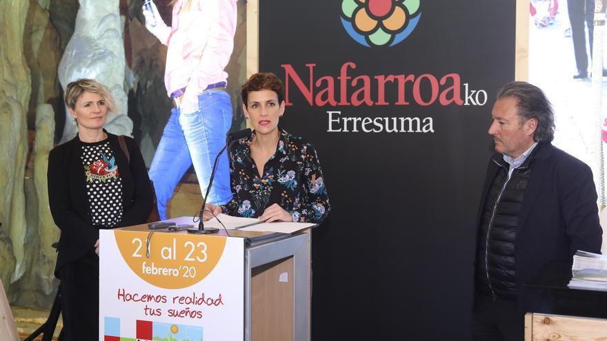 """Chivite destaca el aumento del turismo de proximidad como """"uno de los motores del crecimiento"""" de Navarra"""