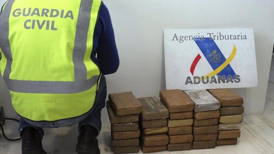 España decomisa casi un tercio de toda la cocaína intervenida en Europa