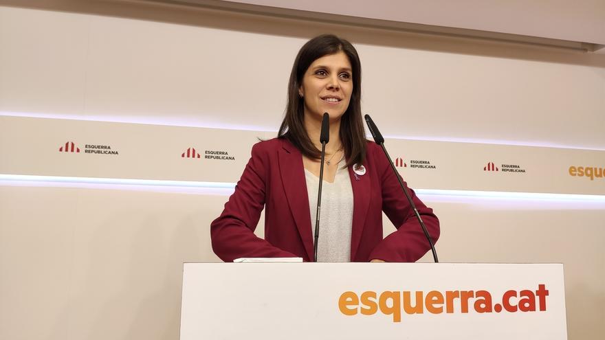 """Vilalta (ERC): """"Solo con que cese un poco la represión ya valdrá la pena"""" negociar con el PSOE"""