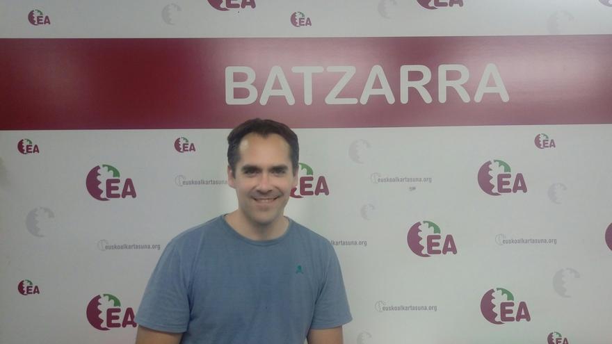 La afiliación de Eusko Alkartasuna elige a Iker Rahona como coordinador de Bizkaia