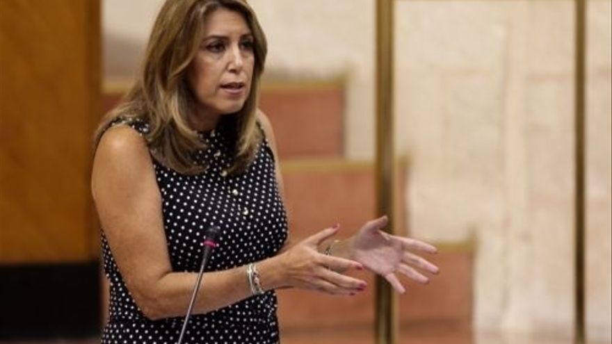 """Susana Díaz pide a Moreno que deje de hacer """"la pelota"""" a Rajoy y tenga la """"valentía"""" de defender a Andalucía"""