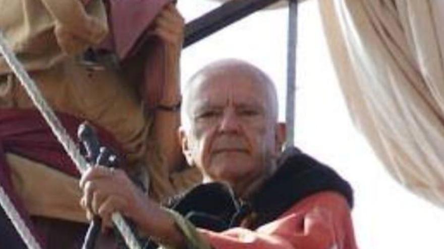 Pepe Feliciano en el Barco de la Virgen.