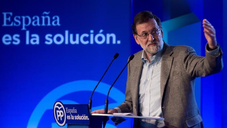 Rajoy rehúsa hablar en Lleida de los bienes de Sijena y se remite a los tribunales