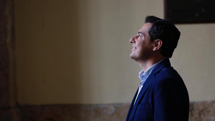 Juan Manuel Moreno, líder del PP andaluz /Foto: Juan Morón