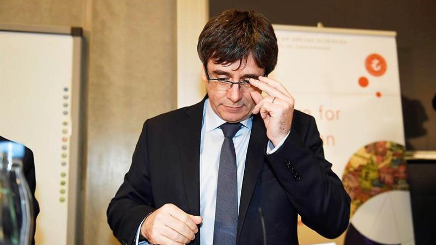 Puigdemont cuestionado en la Universidad de Copenhague sobre el proceso secesionista