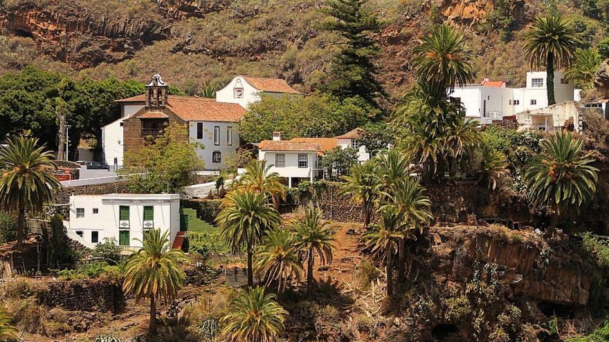 Panorámica del Real Santuario de Las Nieves. Foto: palmerosenelmundo.com