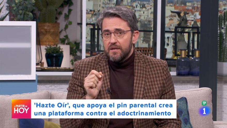 Máximo Huerta, en 'A partir de hoy'
