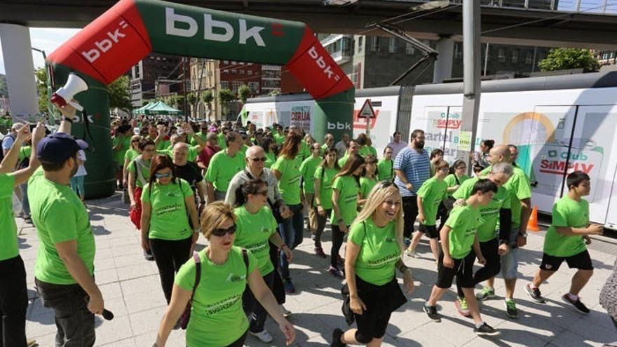 Bilbao acogerá este domingo la IV Marcha solidaria Fundación Síndrome de Down