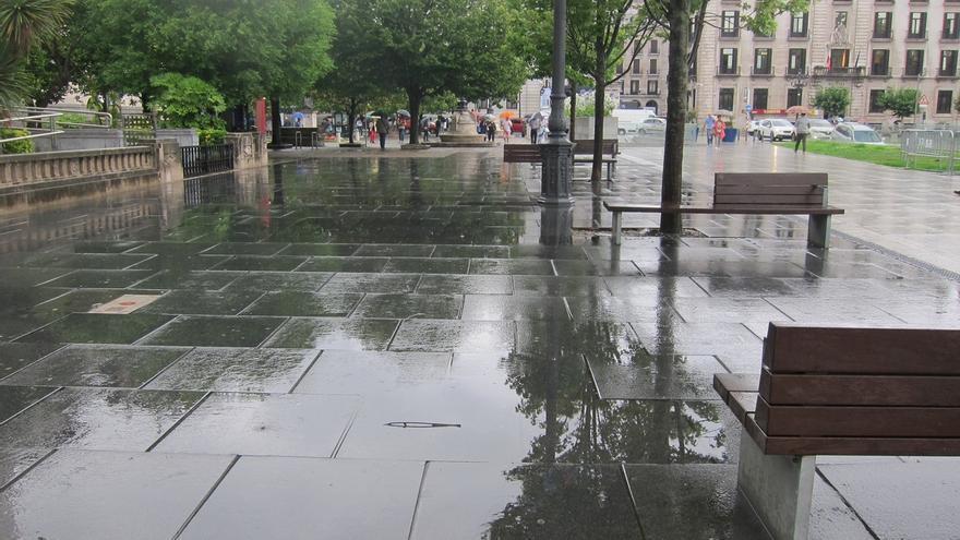 Castro y Treto entre las tres localidades de España donde más ha llovido esta noche