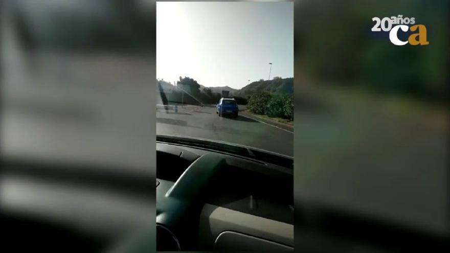Conducción temeraria en La Laguna