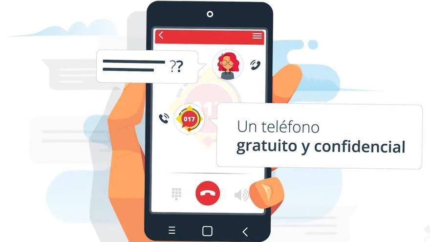 El 017, nuevo teléfono gratuito contra el ciberacoso y otras consultas sobre seguridad digital
