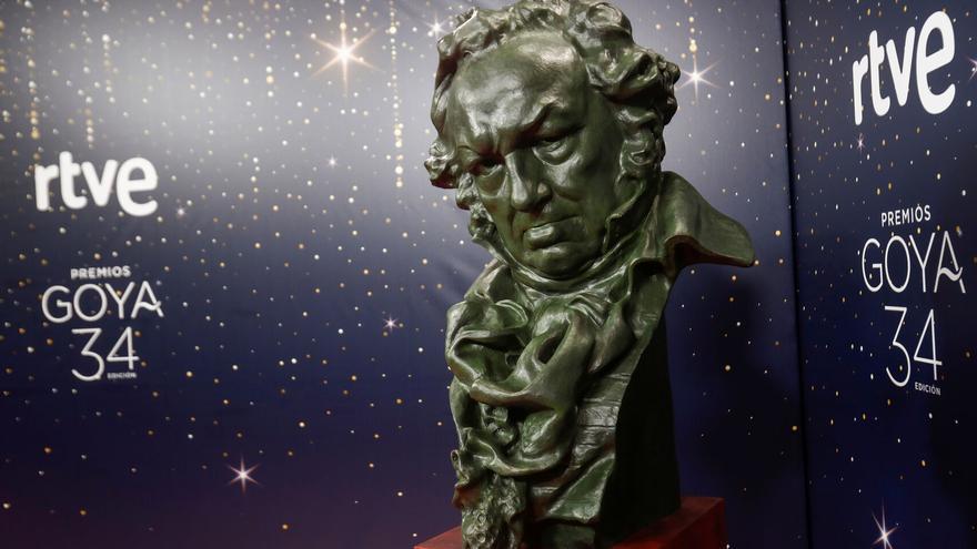 Los Premios Goya, retransmitidos por RTVE