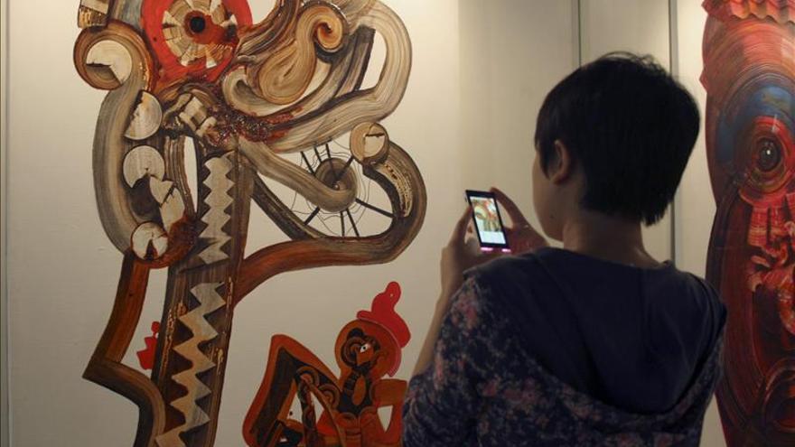 El arte provocativo del catalán Josep Puigmartí vuelve a impresionar en China