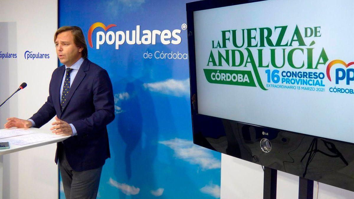 Repullo presenta el congreso provincial del PP de Córdoba.