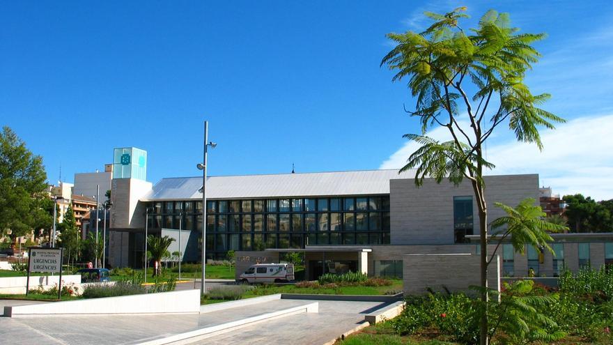 Fachada oeste del Hospital Provincial de Castellón