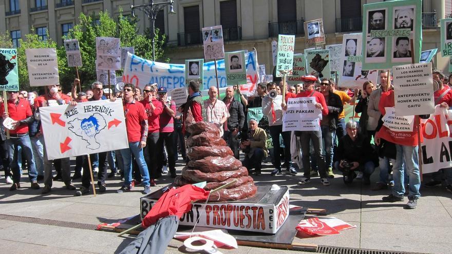 """Geroa Bai llama a los sindicatos a presentar sus aportaciones a la ley de Policías para """"negociar y llegar a consensos"""""""