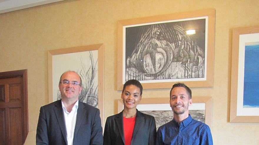 Pestana, este miércoles, con Flavia Martínez y Daniel Pages.