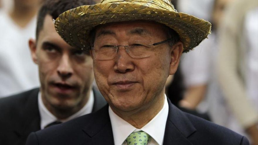 Ban Ki-moon insta a líderes de la Celac a seguir fortaleciendo el sistema de DD.HH.