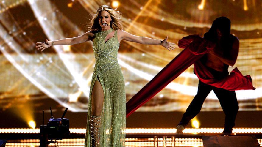 Edurne, en Eurovisión 2015