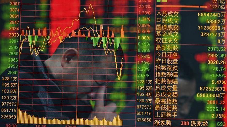 El Hang Seng se deja un leve 0,84 % a media sesión