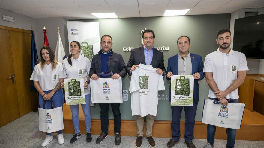 Presentación de la campaña 'Artenara, un Rastro Verde'.